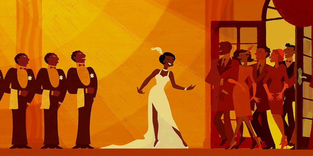 the princess and the frog, tiana, Almost There, crowd, Disney, movies