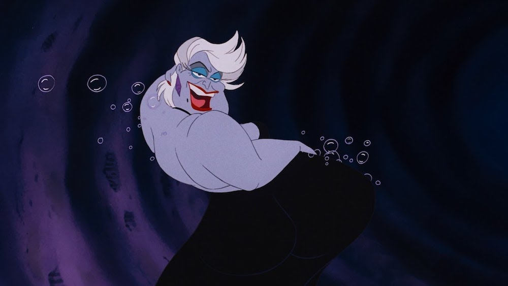 movies, Disney, the little mermaid, ursula