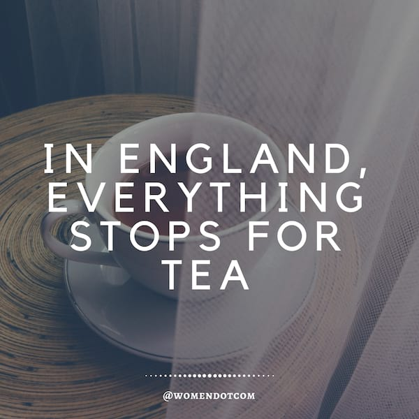 in england everything stops for tea, English, UK, england instagram captions, quotes, teacup quote