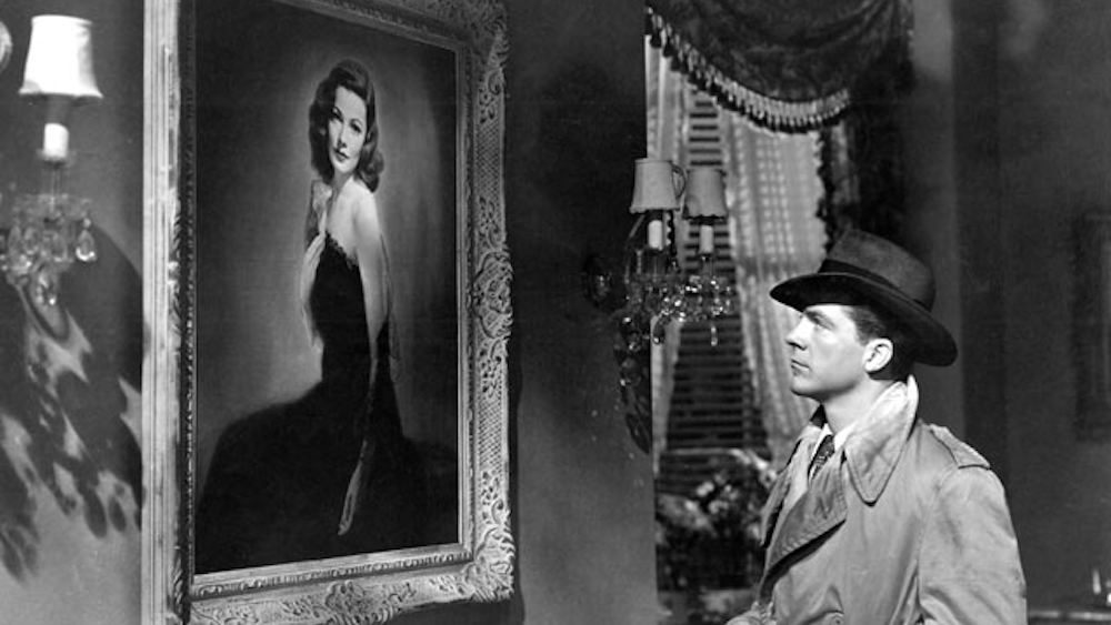 movies, noir film, Laura, dana andrews