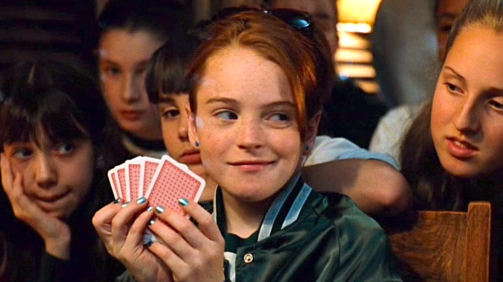The Parent Trap, Lindsay Lohan, poker, cards, games, smart, quiz, hero