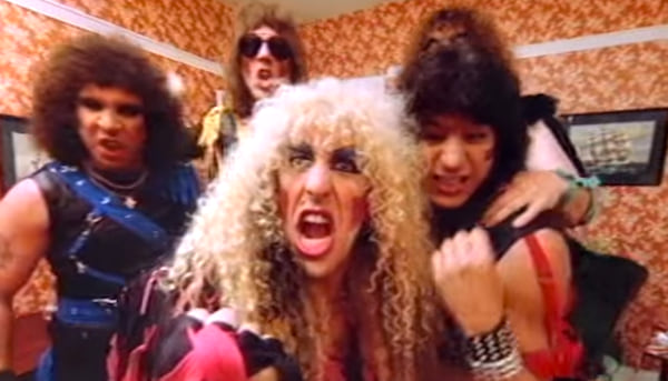 Music, twisted sister, we're not gonna take it, music video