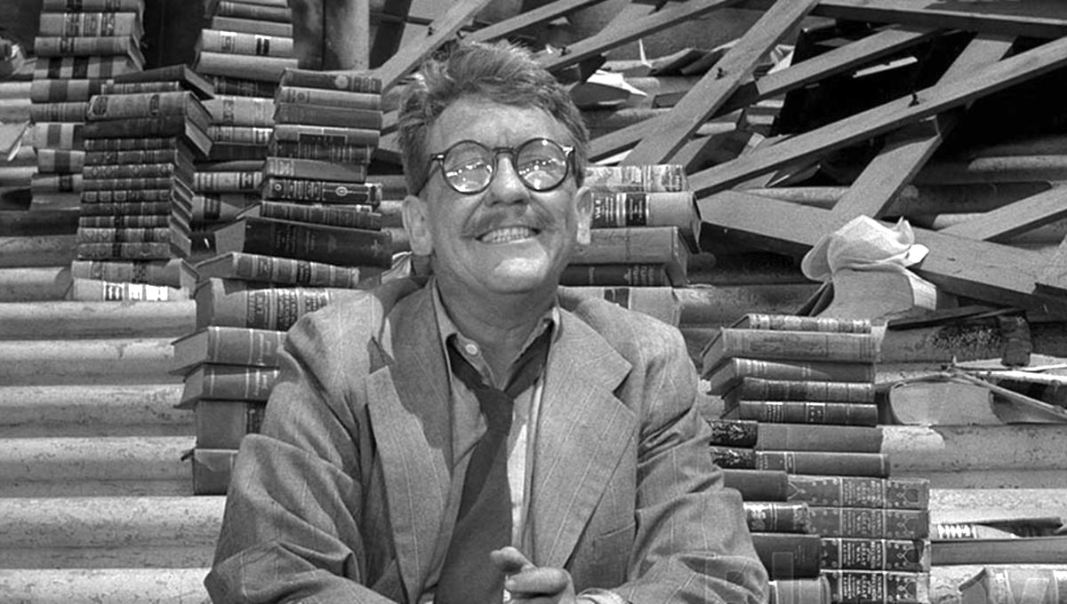 tv, The twilight Zone, time enough at last, burgess meredith