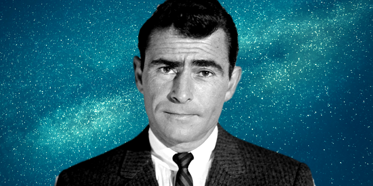 tv, The twilight Zone, celebs, rod serling