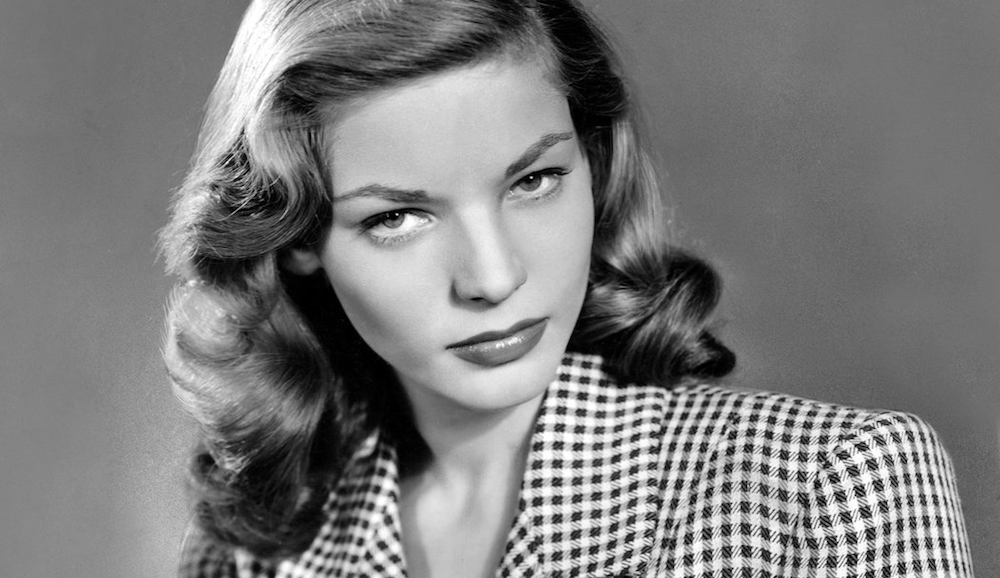 movies, celebs, Lauren Bacall, publicity shot for the big sleep
