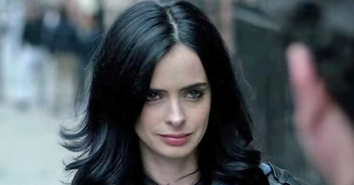 Krysten Ritter as Jessica Jones in the Netflix series