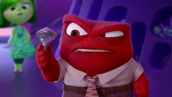 movies, pixar, Inside Out, anger