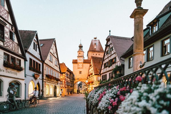 germany, german, little town, town, travel