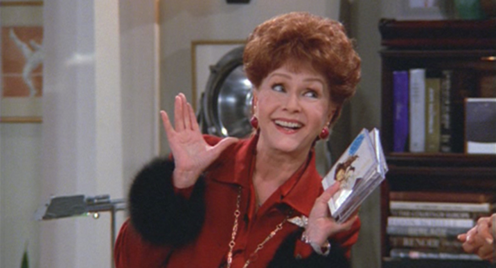 tv, Will and Grace, debbie reynolds as bobbi adler
