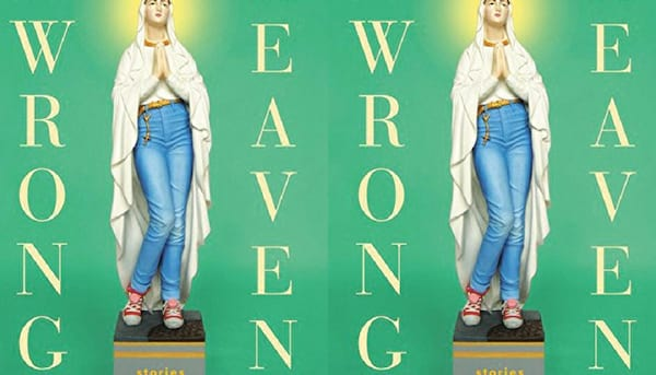 The Wrong Heaven book cover duplicated