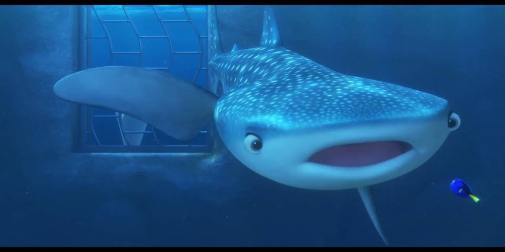 Destiny from Pixar's Finding Dory talks to Dory, movies