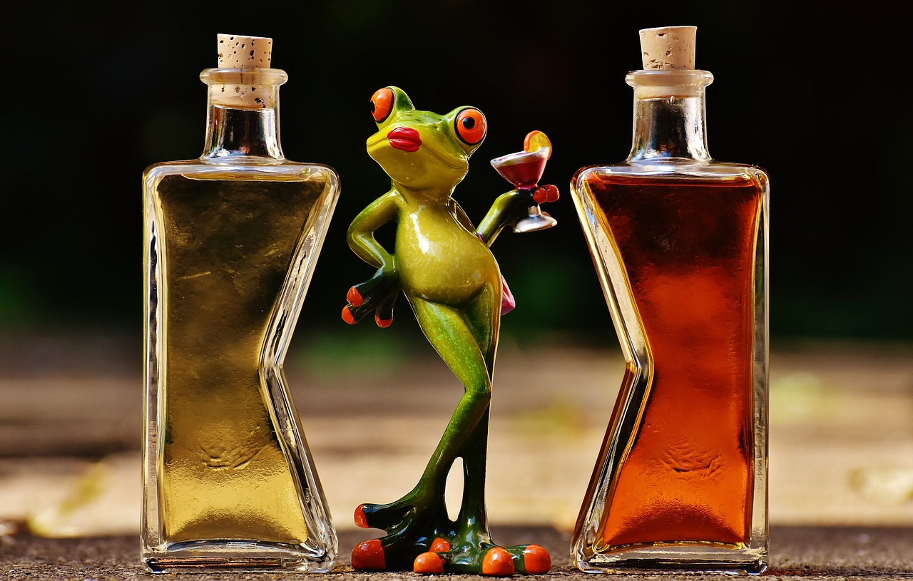 cocktail frog