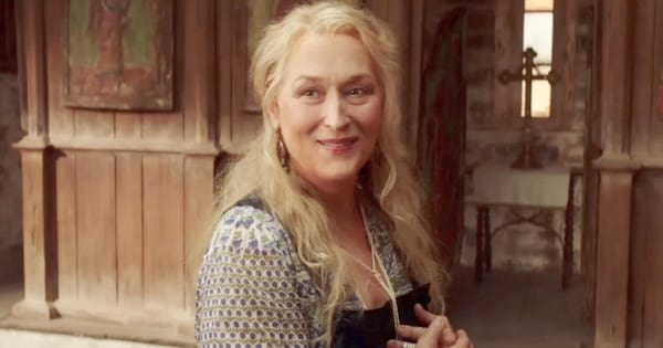 Meryl Streep reprising her role as Donna in Mamma Mia! Here We Go Again (2018)