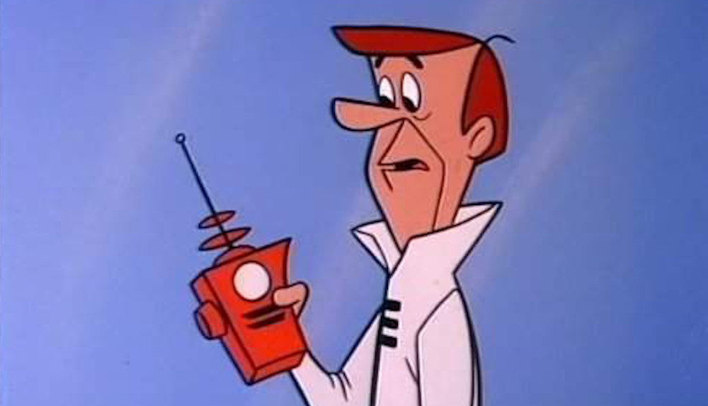 tv, The Jetsons, george jetson