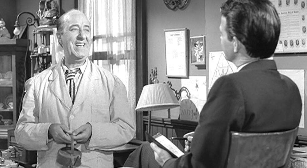 tv, The twilight Zone, ed wynn, one for the angels