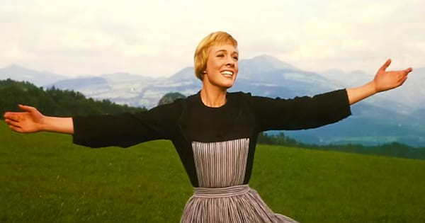 Sound of Music, Julie Andrews, Musicals, Austria, movies, classic hollywood, old hollywood, Music, smile, happy