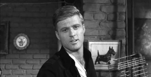 tv, The twilight Zone, robert redford, nothing in the dark