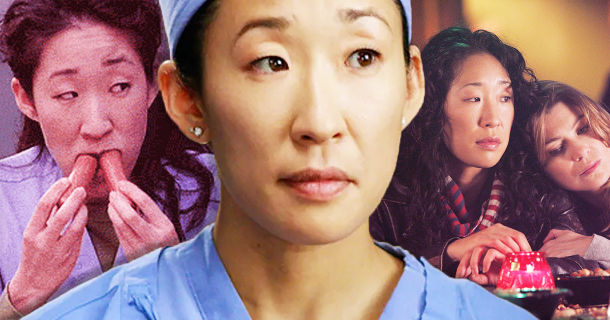 ., best cristina yang moments grey's anatomy, sandra oh, hot dog cristina yang, scrubs, mertina, meredith grey bff