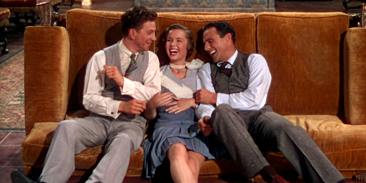 movies, celebs, Singin' In The Rain, donald o'conner, Debbie Reynolds, Gene Kelly