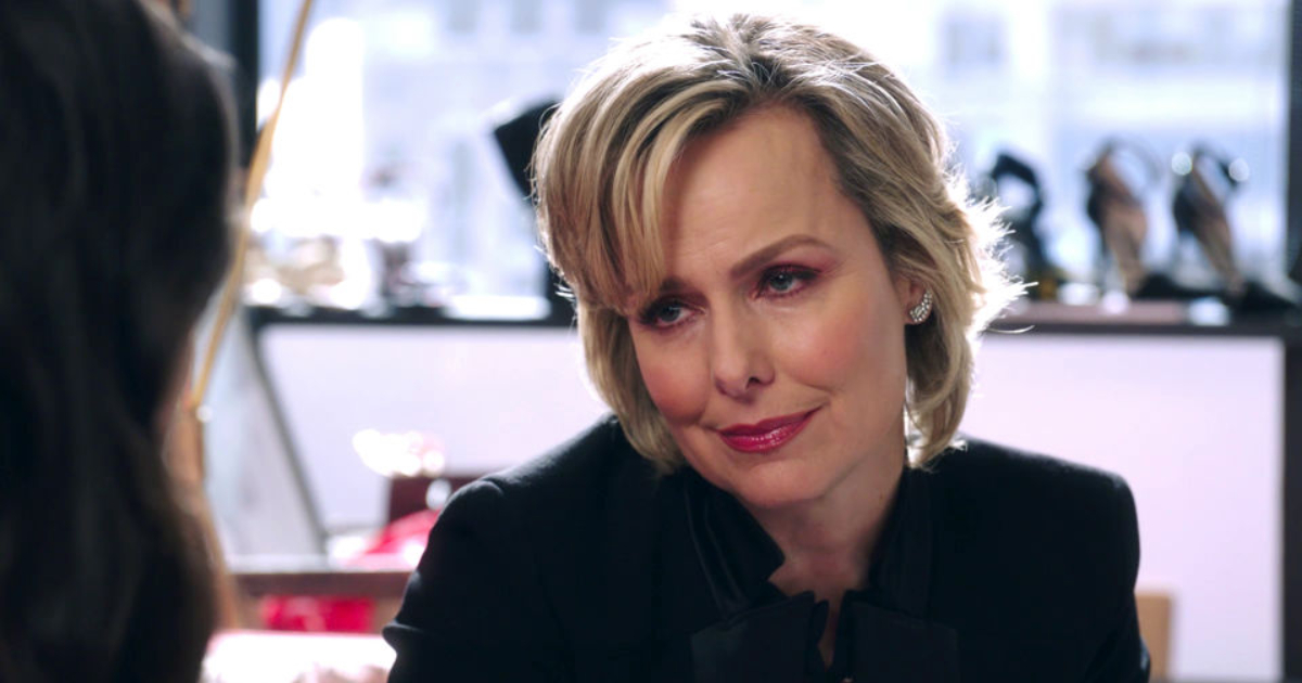 Melora Hardin as Jacqueline Carlyle in The Bold Type