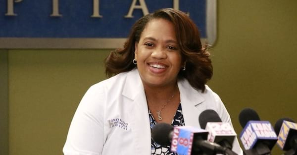 grey's anatomy, entertainment, tv, abc, chandra wilson, standing in front of press conference