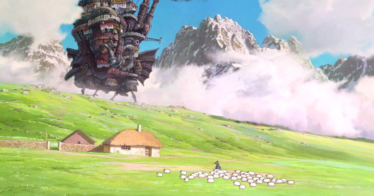 Howls Moving Castle-Anime-Movies
