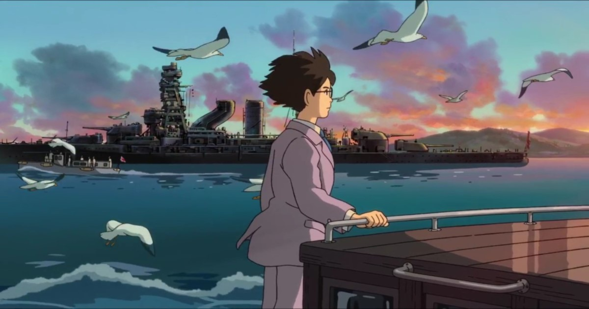 The Wind Rises, anime, movies