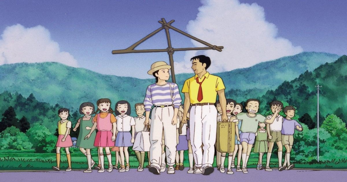 Only Yesterday, anime, movies