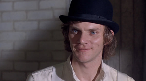 movies, celebs, A clockwork orange, malcolm mcdowell