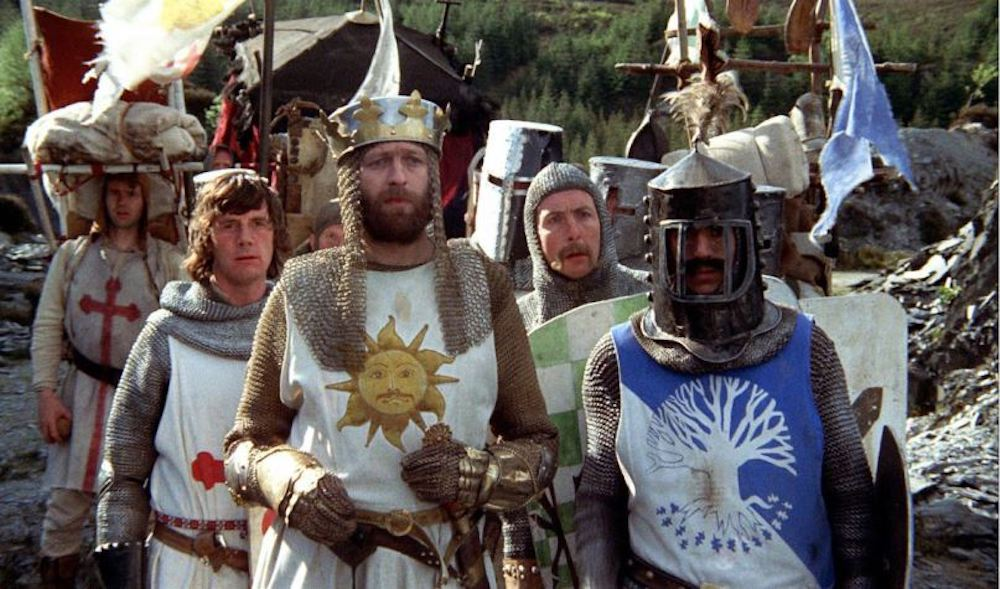 movies, Monty Python and The Holy Grail, 70s