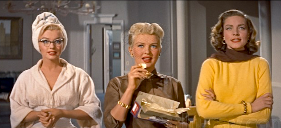 movies, celebs, How to Marry a Millionaire, marilyn monroe, betty grable, Lauren Bacall