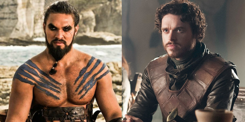 tv, game of thrones, khal drogo, robb stark