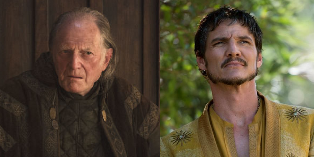tv, game of thrones, walder frey, oberyn martell