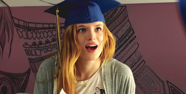 midnight sun, hero, bella thorne, school, graduation