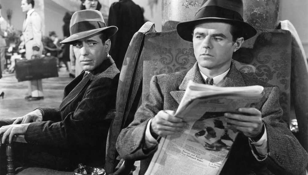 movies, the maltese falcon, Humphrey Bogart, film noir