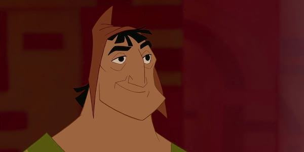 Pacha from Disney's The Emperor's New Groove smiles while looking on., movies