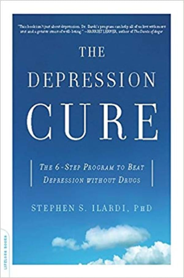 The Depression Cure: The 6-Step Program to Beat Depression Without Drugs by Stephen S. Ilardi book cover