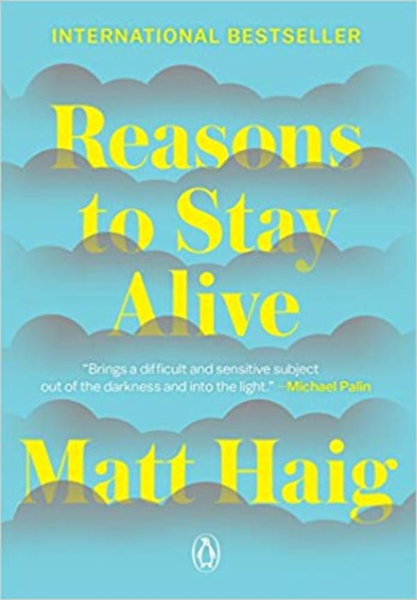 Reasons to Stay Alive by Matt Haig book cover