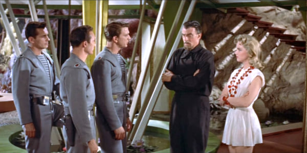 movies, forbidden planet, 1956, Sci-Fi