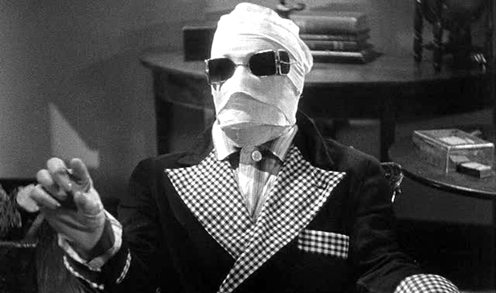 movies, the invisible man, 1933, Sci-Fi