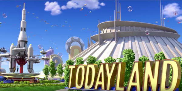 Todayland opening scene from Disney's Meet The Robinsons, movies