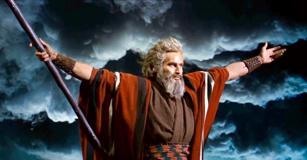 movies, celebs, the ten commandments, charlton heston, 1956