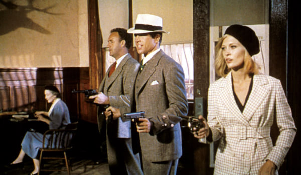 movies, celebs, Bonnie and Clyde, warren beatty, faye dunaway, 1967