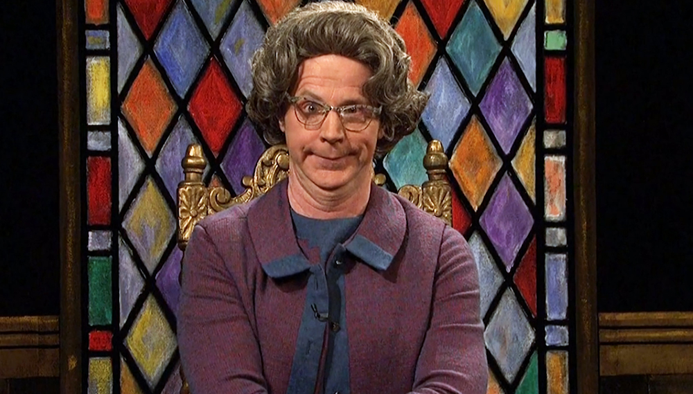 tv, saturday night live, celebs, dana carvey as church lady