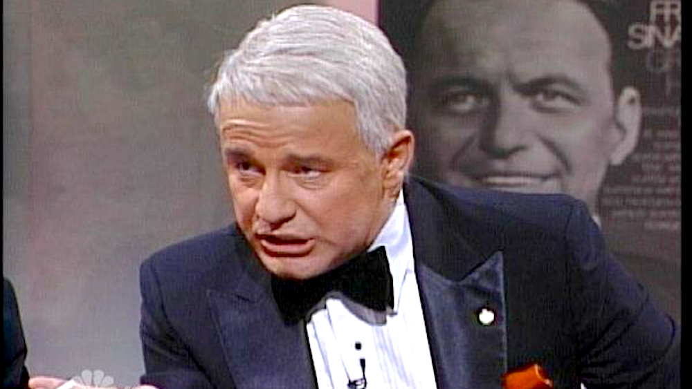 tv, saturday night live, celebs, phil hartman as frank sinatra