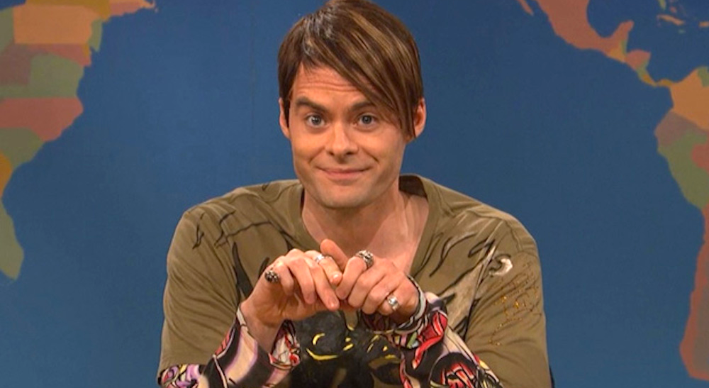 tv, saturday night live, celebs, bill hader as stefon