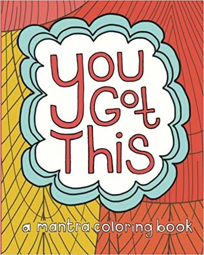 You Got This coloring book cover