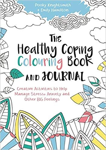 The Healthy Coping Colouring Book and Journal cover