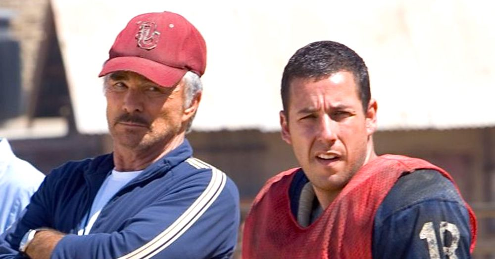 movies, celebs, The Longest Yard, 2005, Burt Reynolds, adam sandler