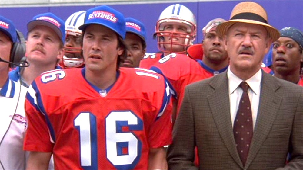 movies, celebs, the replacements, 2000, Keanu Reeves, Gene Hackman